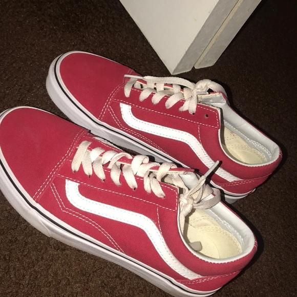 c7701ddea2e Vans Shoes - Red vans